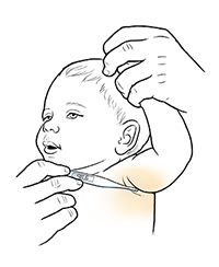 Discharge Instructions Taking An Axillary Temperature Pediatric
